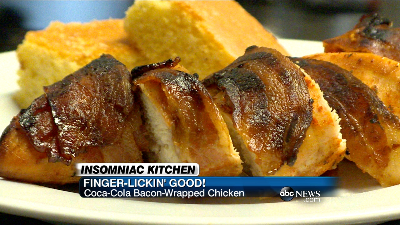 Bacon-Wrapped Coca-Cola Chicken