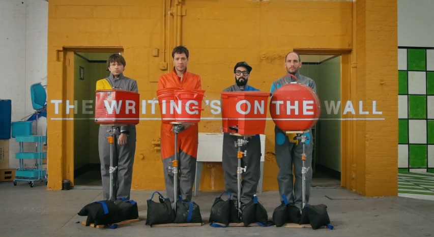 "OK GO - ""The Writing's On The Wall"""