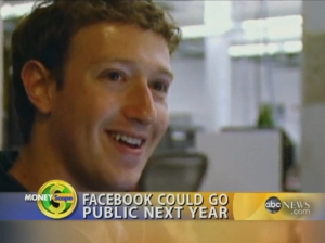 Facebook could go public next year