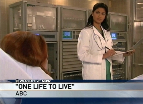 "Dr. Nair on ABC's ""One Life To Live"""
