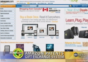 Amazon Patents Gift Exchange Program