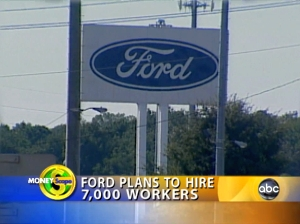 Ford plans to hire workers