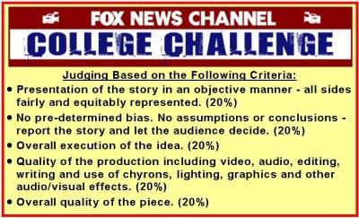 FOX News Channel Judging Criteria