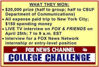 FOX News Prize Details